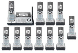 AT&T CLP99486 11 Cordless Phones w/Bluetooth Connect to Cell & Answering Machine - $322.60