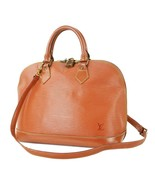 Auth LOUIS VUITTON Alma Brown Epi Leather 2-Way Hand Bag #32781B - $329.00