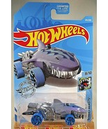 2019 Hot Wheels Treasure Hunt #231 Street Beasts SHARKRUISER Gray w/Blue... - $8.25