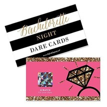 Girls Night Out Bachelorette Party Game Scratch Off Cards 22 Count Games... - ₨1,093.44 INR