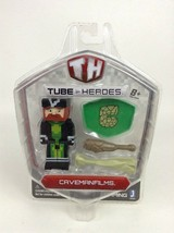 Jazwares Tube Heroes Caveman Films Action Figure with Accessories New Se... - $9.85