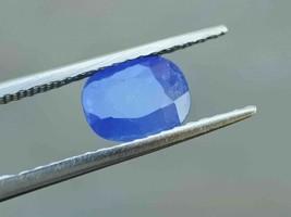 100% Natural Blue Sapphire Unheated Burma Myanmar Untreated Gemstones 2.... - $98.99