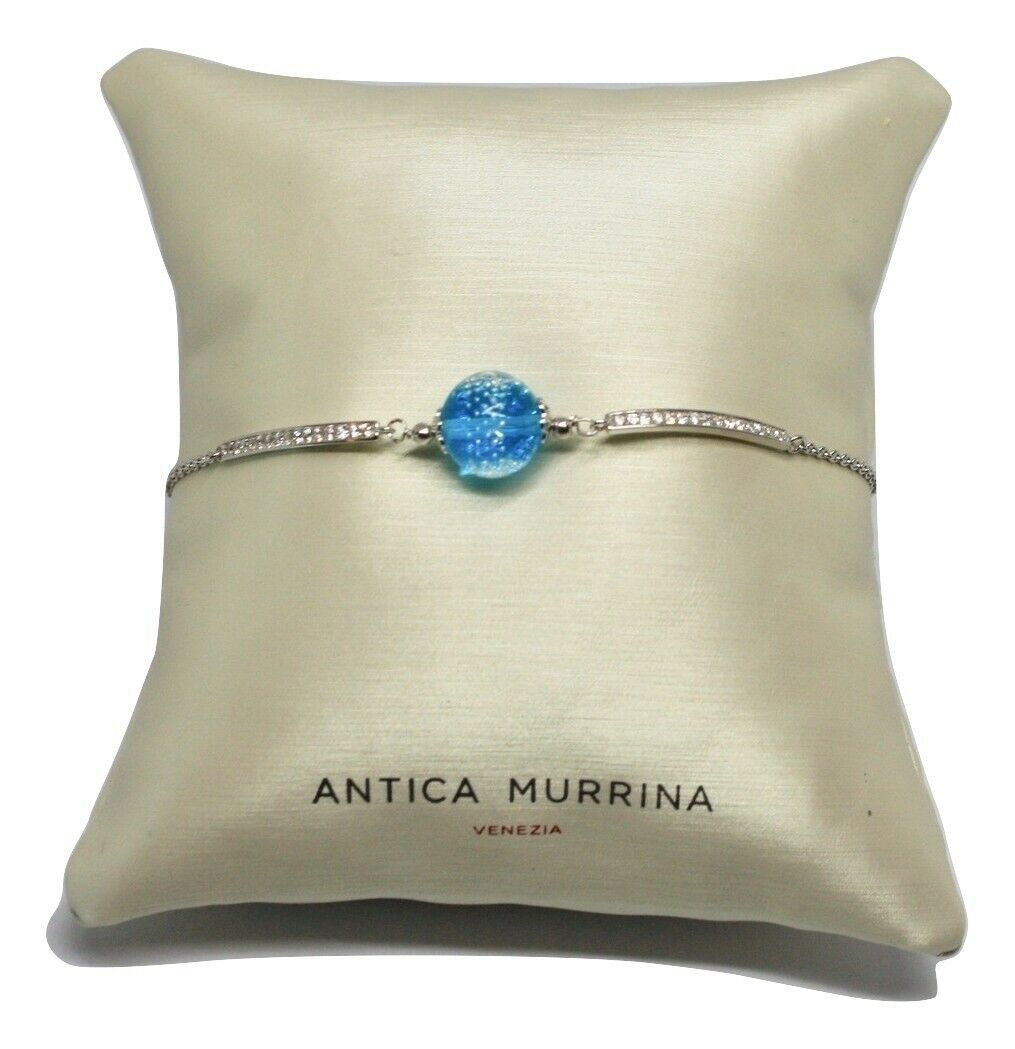 Bracelet Antica Murrina Venezia Silver 925 and Murano Glass AMVJWBT009C07