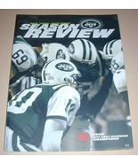 NFL New York JETS Official Season Review 2002 Football Magazine Team Book - $12.99