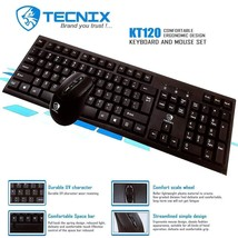 USB Wired Keyboard and Mouse Bundle Pack - Support Windows 10/8/7/Vista/... - $465,26 MXN