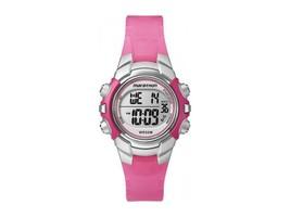 Timex Marathon T5K808 Women's Pink Resin Indiglo Light Alarm Chronograph... - $19.70