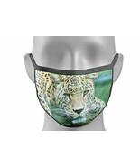 Face mask cover BIG CAT Leo SNOW Leopard lion tiger king fashion Unisex ... - $7.82