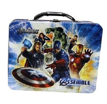 The Avengers Movie Group Large Carry All Tin Tote Lunchbox Style B, NEW ... - $13.50