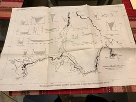 Vintage Survey Map - Lake Mead            (Reference # 01-03 ) - $10.00