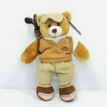 """Dad Golf Club Bear Stuffed Plush Golfing Animal March Of Dimes 8"""" With Tags - $15.83"""