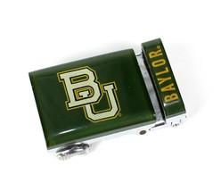 NCAA Baylor Bears Texas College Acrylic BU Team Logo 40mm Strap Belt Buckle - $17.50