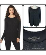SOMA Intimates Divine Terry Lace Raglan Sleeve Top Tunic XL Loungewear C... - $28.00