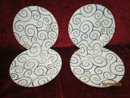 PIER 1 PIER1 Zebra Set of 2 Dinner Plates - $33.61