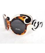 PRADA Women's Sunglasses PR-23NS Havana/Ivory Minimal Baroque MADE IN IT... - $235.00