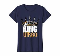 Funny Happy birthday T-Shirt - Virgo Birthday Gifts - King Virgo Zodiac T-Shirt  image 4