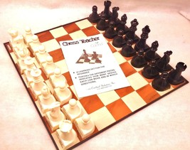 Chess Teacher by Cardinal 1979 No 245 Learning Set for the Beginner Complete - $18.38