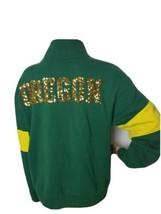Oregon Ducks Victoria's Secret Pink Women's Pullover Sweatshirt Green Me... - $43.12