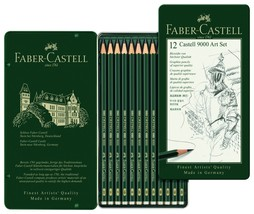 Faber-Castell 9000 Pencil Set Pack of 12 Drawing Students, Artist & Desi... - $29.99