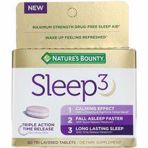 Nature's Bounty Sleep3, 60 Tri-Layered Tablets - $35.99