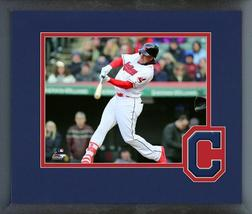 Michael Brantley 2018 Cleveland Indians - 11x14 Team Logo Matted Framed Photo - $43.95