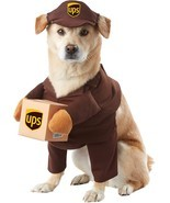 California Costumes Brown UPS Pal Dog Costume X-Small - $38.18