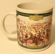 Currier and Ives Coffee Cup Mug Central Park Winter 1862   - $12.86