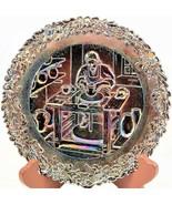 Fenton Carnival Glass Commemorative No. 8 Plate Annual Series of Collect... - $22.76