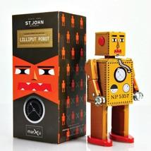 "LILLIPUT ROBOT 5"" Saint John Wind Up Tin Toy Collectible Retro Outer Spa... - $24.88"
