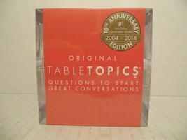 TableTopics 10th Anniversary Edition: Questions to Start Great Conversat... - $28.60