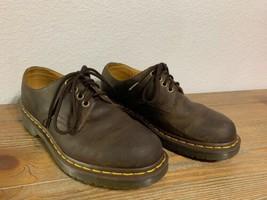 Dr. Martens Unisex Men Size 7 Ladies Size 8 Stanton Lace-up Shoes Brown Leather - $74.79