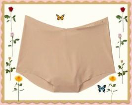XXL Beige Nude NO SHOW Seamless Victorias Secret High Waist Midi Brief P... - $10.99