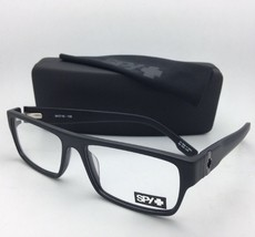 New SPY Optic Eyeglasses VAUGHN MBK 54-16 135 Matte Black Frame w/ Spring Hinges
