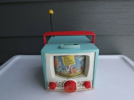 Vintage Fisher Price TV Music Box Peek a Boo Screen - $22.26