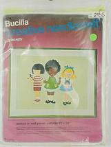 Bucilla Creative Needlecraft Friends by Marcia Reed Kit No 2155 - $14.99