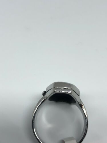 Vintage Large Stainless Steel Cross Crest Coffin Size 13 Men's Ring