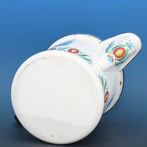 "Vintage Berggren Sweden Porcelain Enamelware Coffee Pot Percolator 6"" 2 Cup image 6"