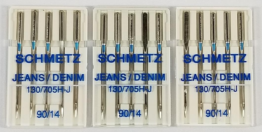 Schmetz Quick Threading Sewing Machine NeedlesSize90//14
