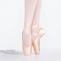 Capezio 183 Women's Size 4D (fits 6) European Pink Infinita Pointe Shoes - $19.79