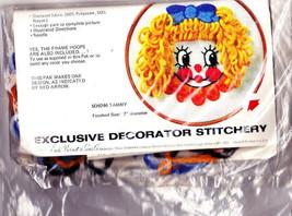 Bernat TAMMY Clown Kit SO9246 Needlepoint Open Kit Not Complete Vtg 1977  - $6.99