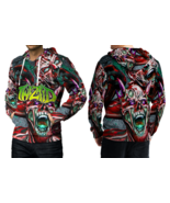 TWIZTID - Red Face  Full print 3D All Over Print Pullover Hoodie For Men - $33.75