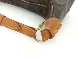 Authentic LOUIS VUITTON Monogram Canvas Leather Boulogne 35 Shoulder Bag image 5