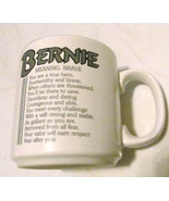 "Bernie Name Meaning ""BRAVE"" Poem byn Marci G. Coffee Collectible Name Mu... - $29.99"