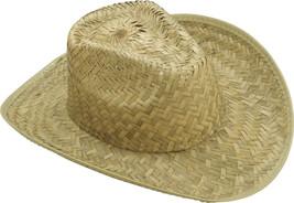 Forum Novelties Straw Cowboy Hat Adult (One-Size) - $29.42