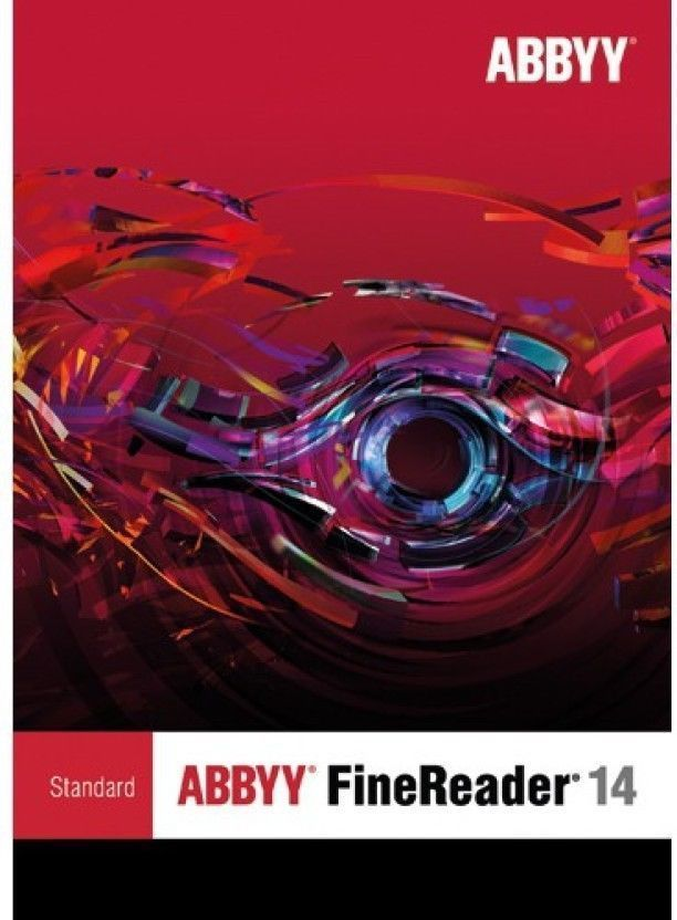 Primary image for ABBYY FineReader 14 Standard -1 PC License