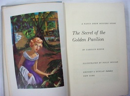 Nancy Drew Cameo Bolian The Secret of the Golden Pavilion 1960 BCE type ... - $10.00