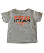 TeeNow Texas Littlehorn 2T, Grey - $18.05