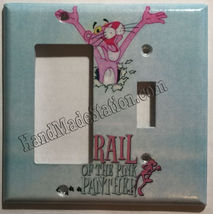 Pink Panther Light Switch Outlet Toggle Rocker Cover Plate Home Decor image 5