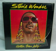 STEVIE WONDER Hotter Then July VINYL RECORD 1980 Motown T8-373M1B Shrink... - $19.80