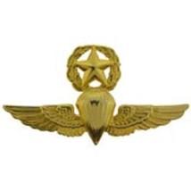 "US Navy USMC Parachutist Badge Master Jump Wing Pin 2-3/4"" - $9.89"