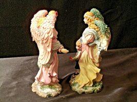 Pair of Angel Figurines in box AA-192051 Vintage image 7